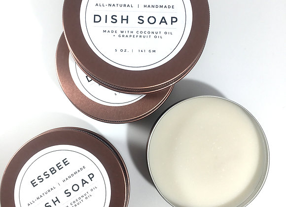 TWO-INGREDIENT SOLID DISH SOAP