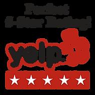 5-Star Rating Yelp Badge