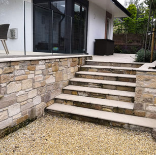 MacColl & Stokes Landscaping Walling & Steps