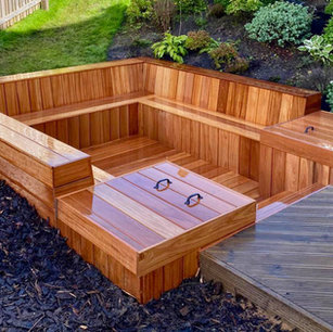 MacColl & Stokes Landscaping Decking