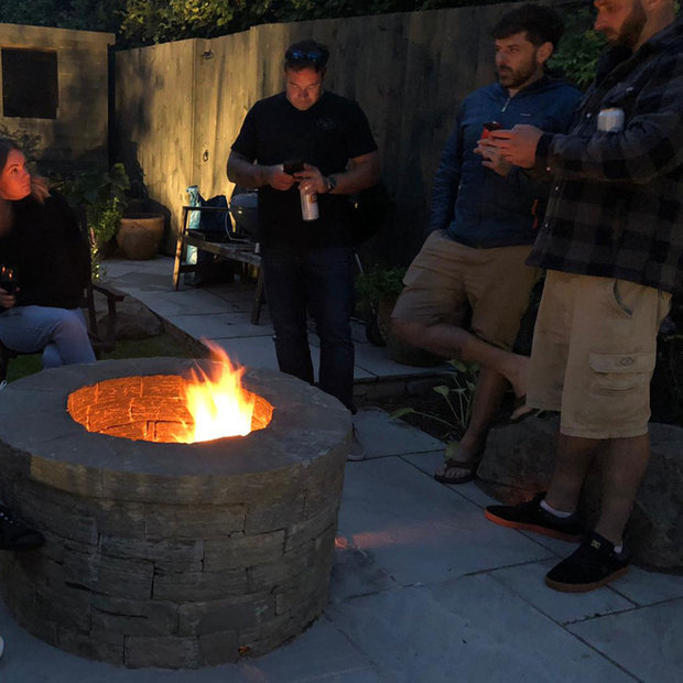 MacColl & Stokes Landscaping Fire Pits