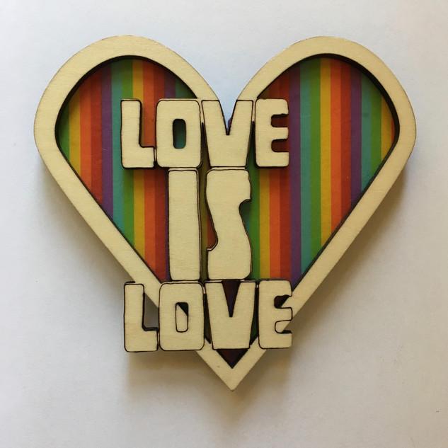 LoveIsLove Ornament