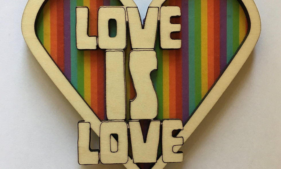 Love Is Love Magnet
