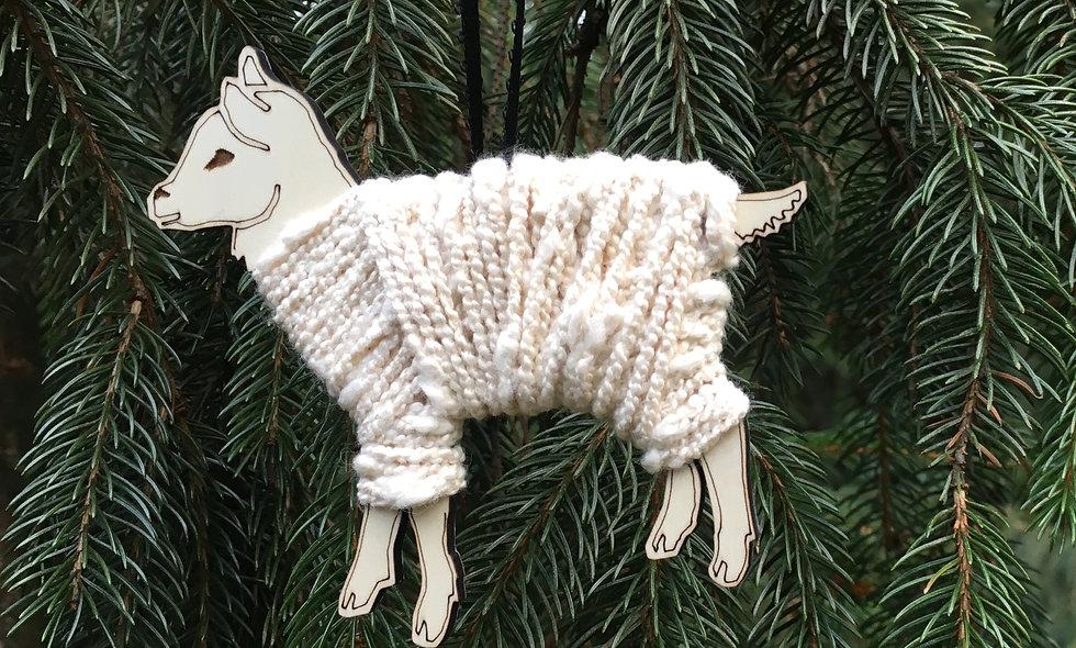 Lamb ornament