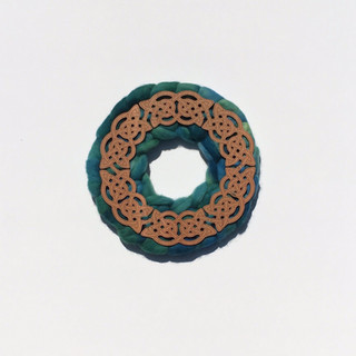 Celtic Roving Wreath