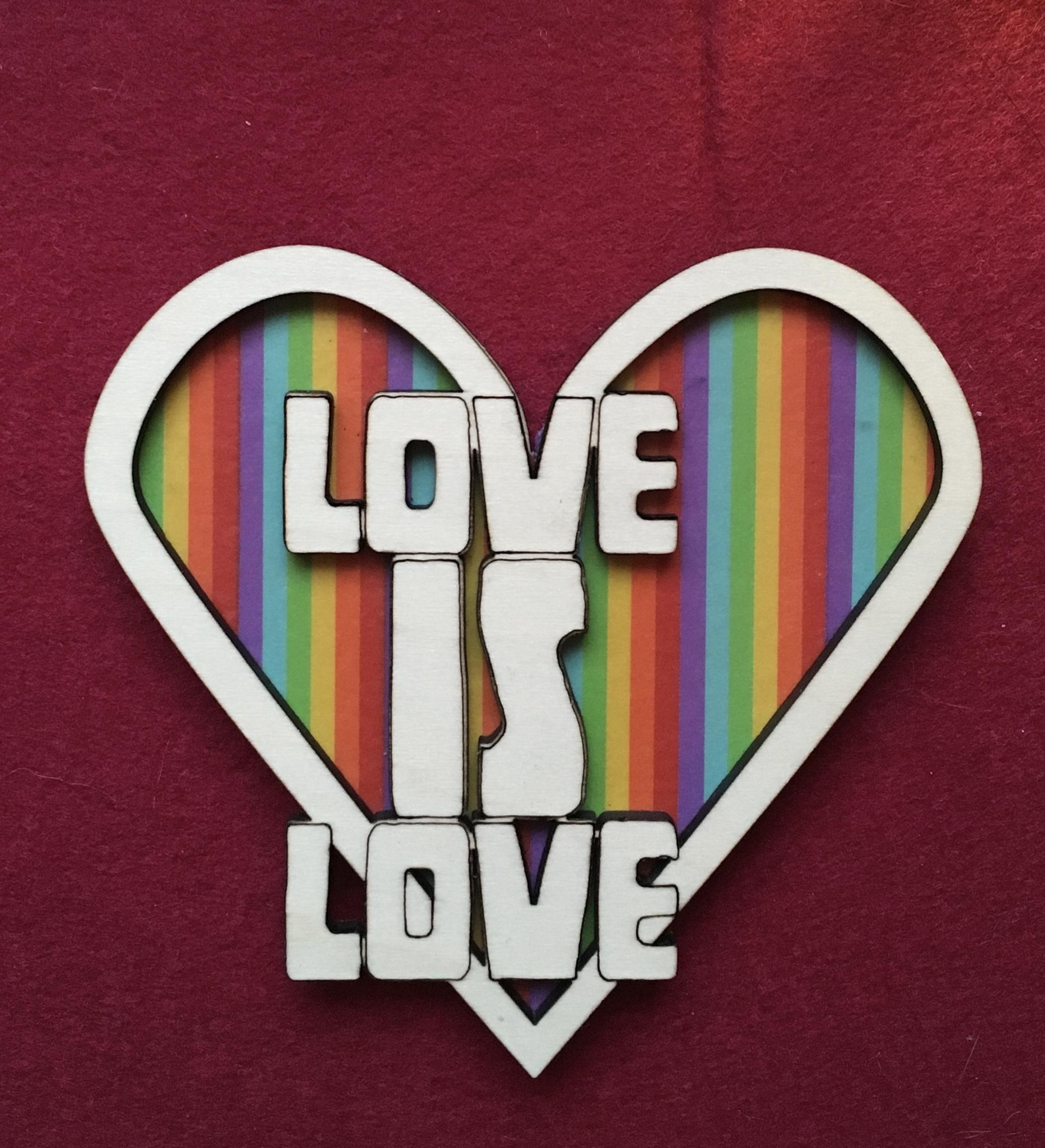 LoveIsLove Magnet