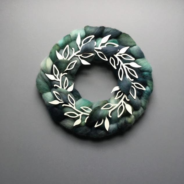 Roving Wreath