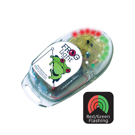 Frog Light - Flashing Red Green