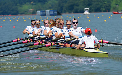 Ladies US8 wins gold with new seats