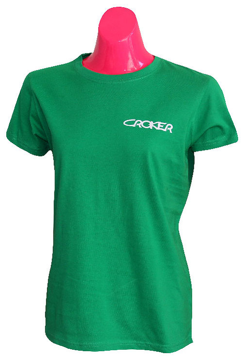CROKER WOMENS TSHIRT - GREEN