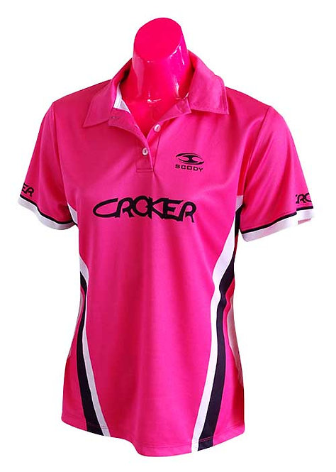 CROKER SCODY WOMENS POLO PINK