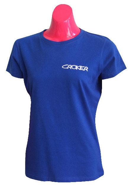 CROKER WOMENS TSHIRT - BLUE