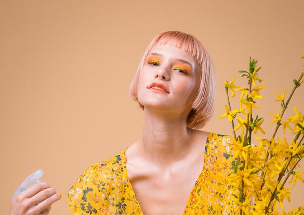 Make-Up für Editorial