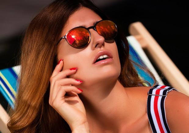 Make-Up für Werbeaufnahmen