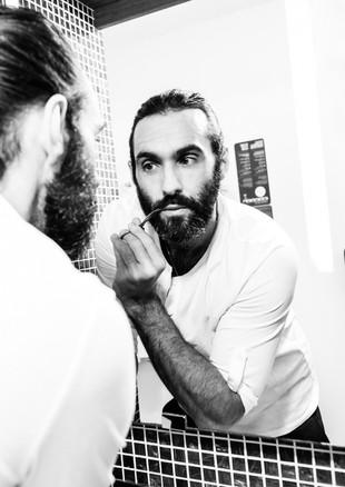 Make-Up & Haare für Male Models