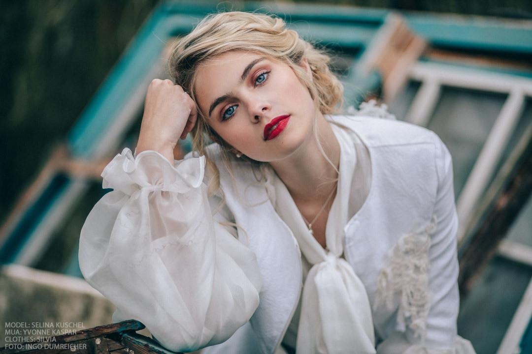 Blonde Beauty Portrait