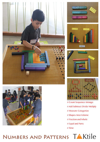 Play with Numbers and Patterns