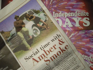 Social time with Amber & Smoke - Big Bear Grizzly Weekender