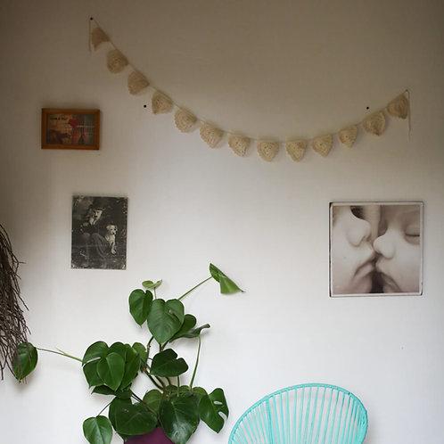 bandeirinha de crochet