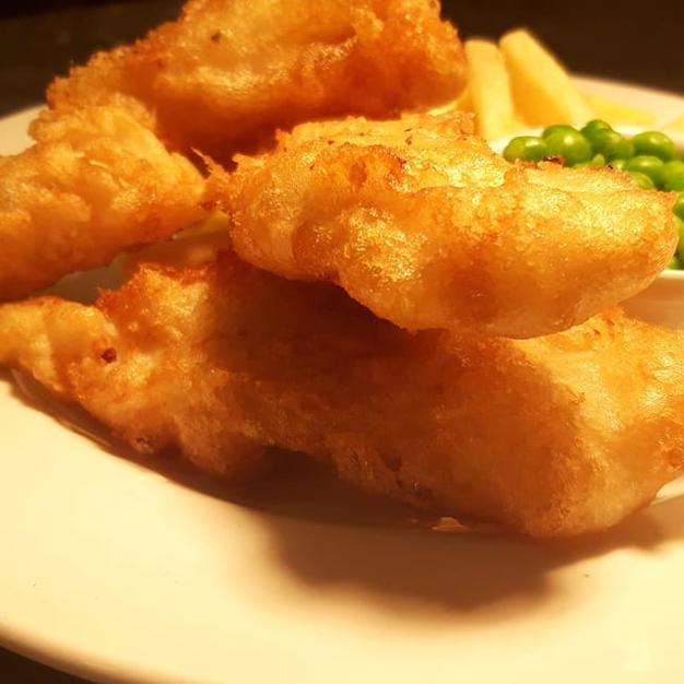 home made fish goujons
