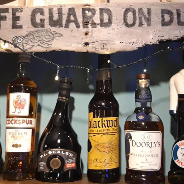 Buddy's premium rum selection