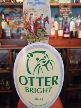 Local Otter ales served