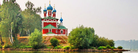 Речной круиз Углич Калязин