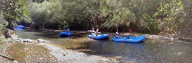 Jordan river rafting