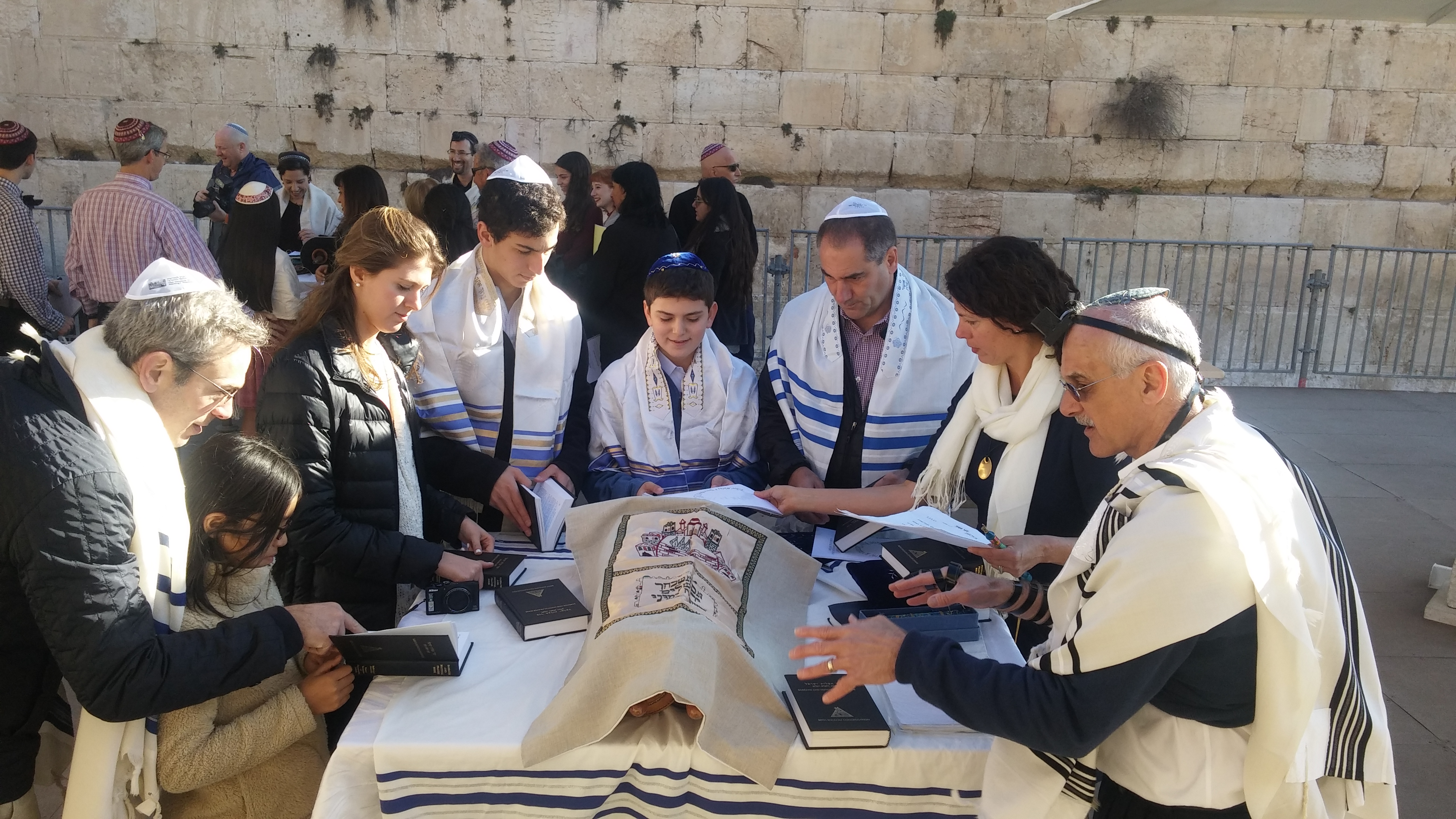 Bar Mitzvah at the Wall