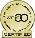 Wedding Planners Institute Of Canada Badge