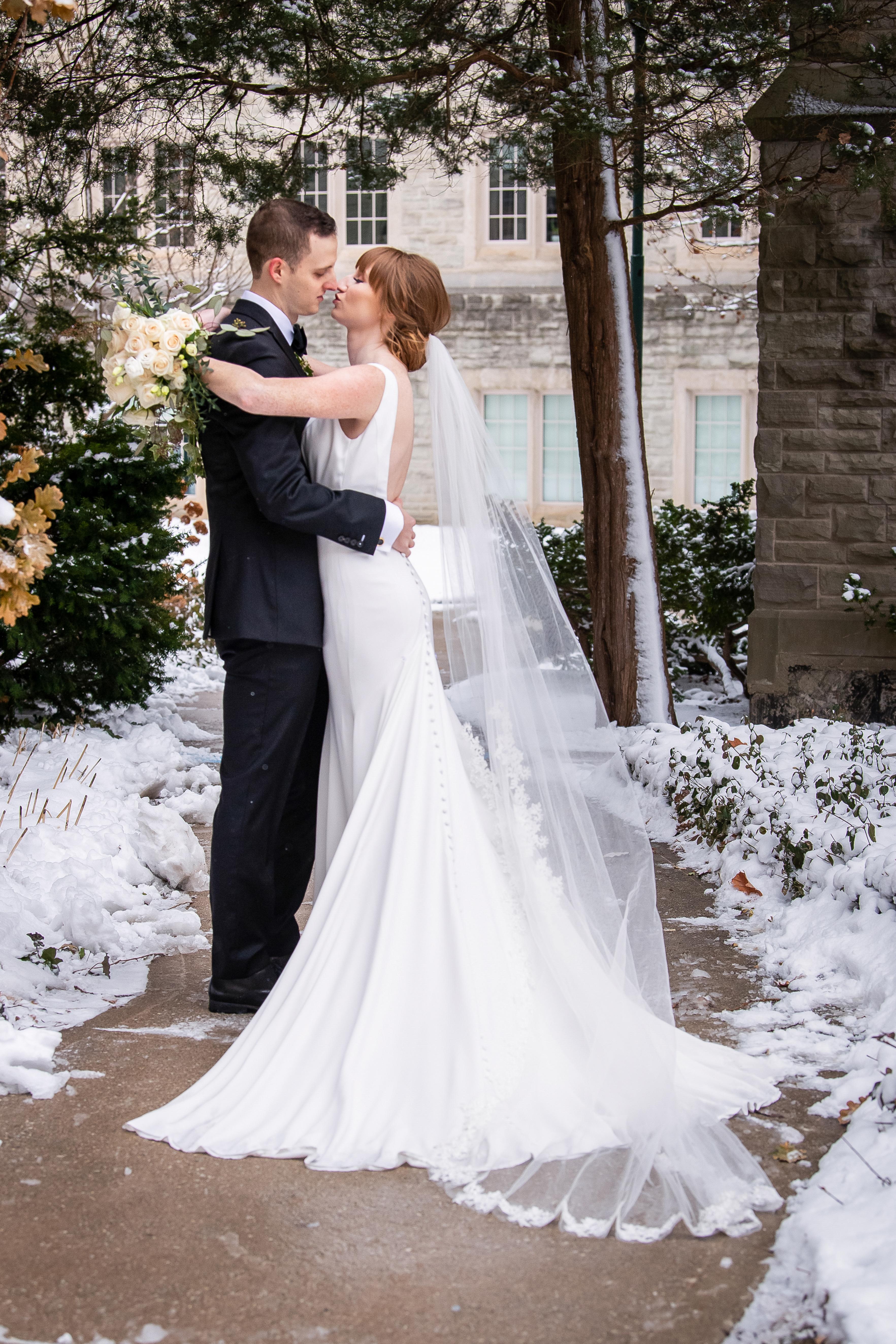 Winter Wedding London Ontario Canada Western University Wedding Planner