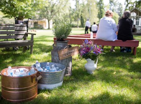 E & M | Whimsical Garden Wedding