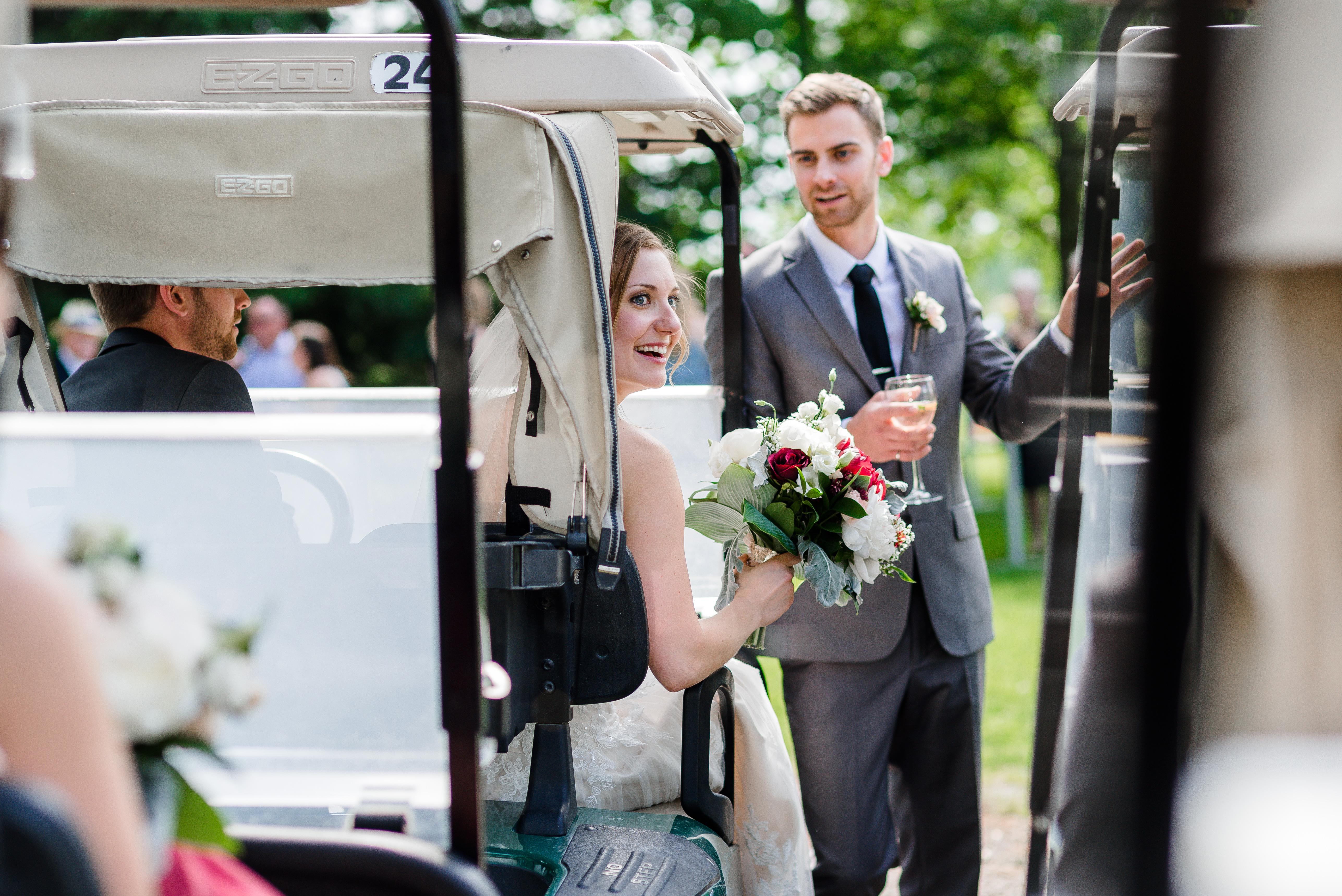 The Barn Exeter Ontario Wedding