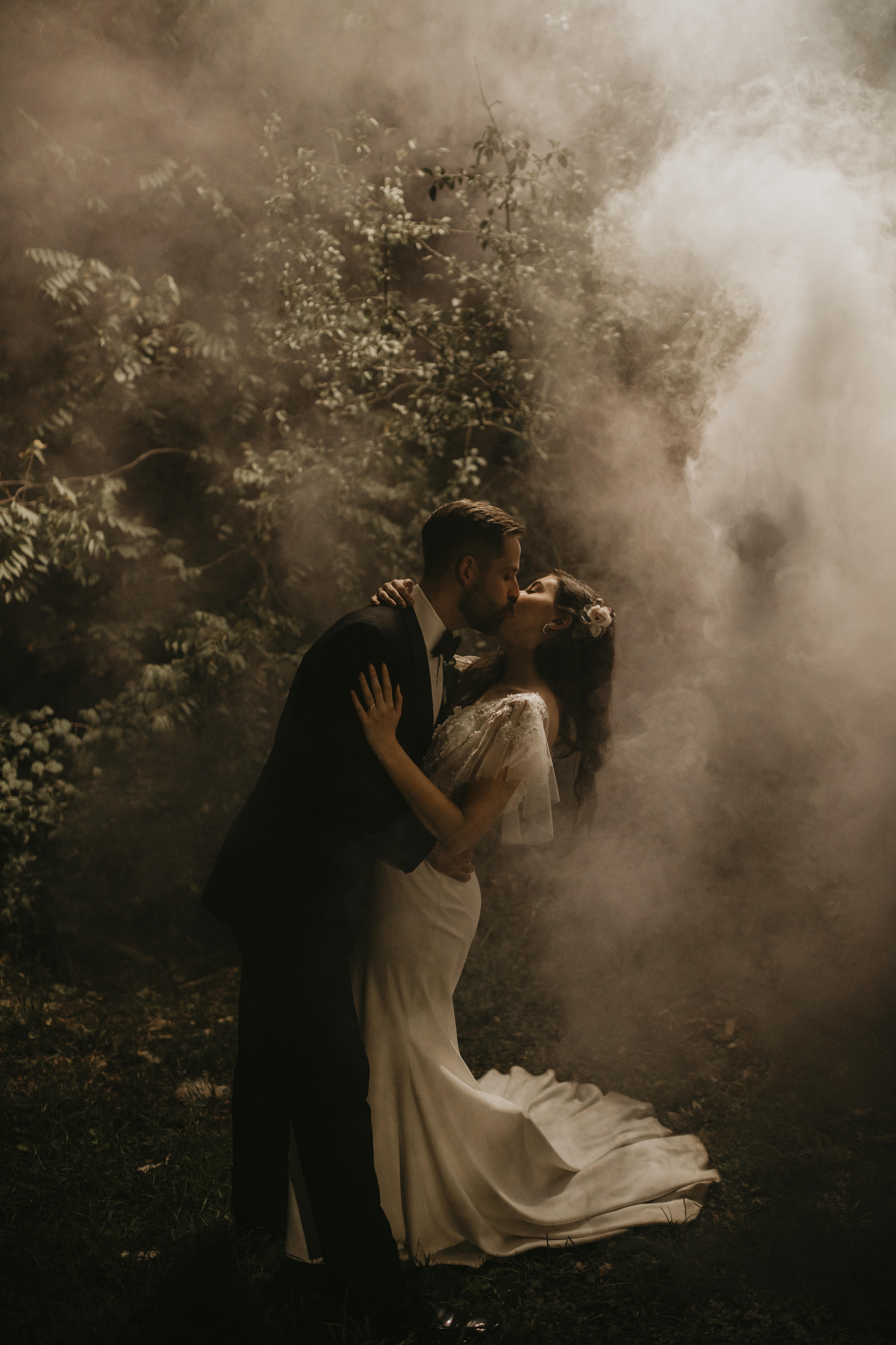 Smoke Bomb Wedding Photography London Ontario Wedding Planner