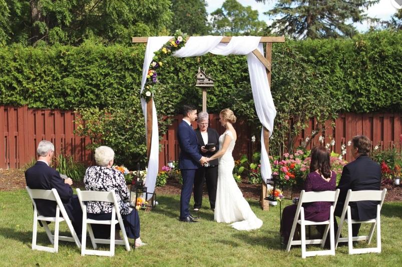 London Ontario Backyard Wedding Planner