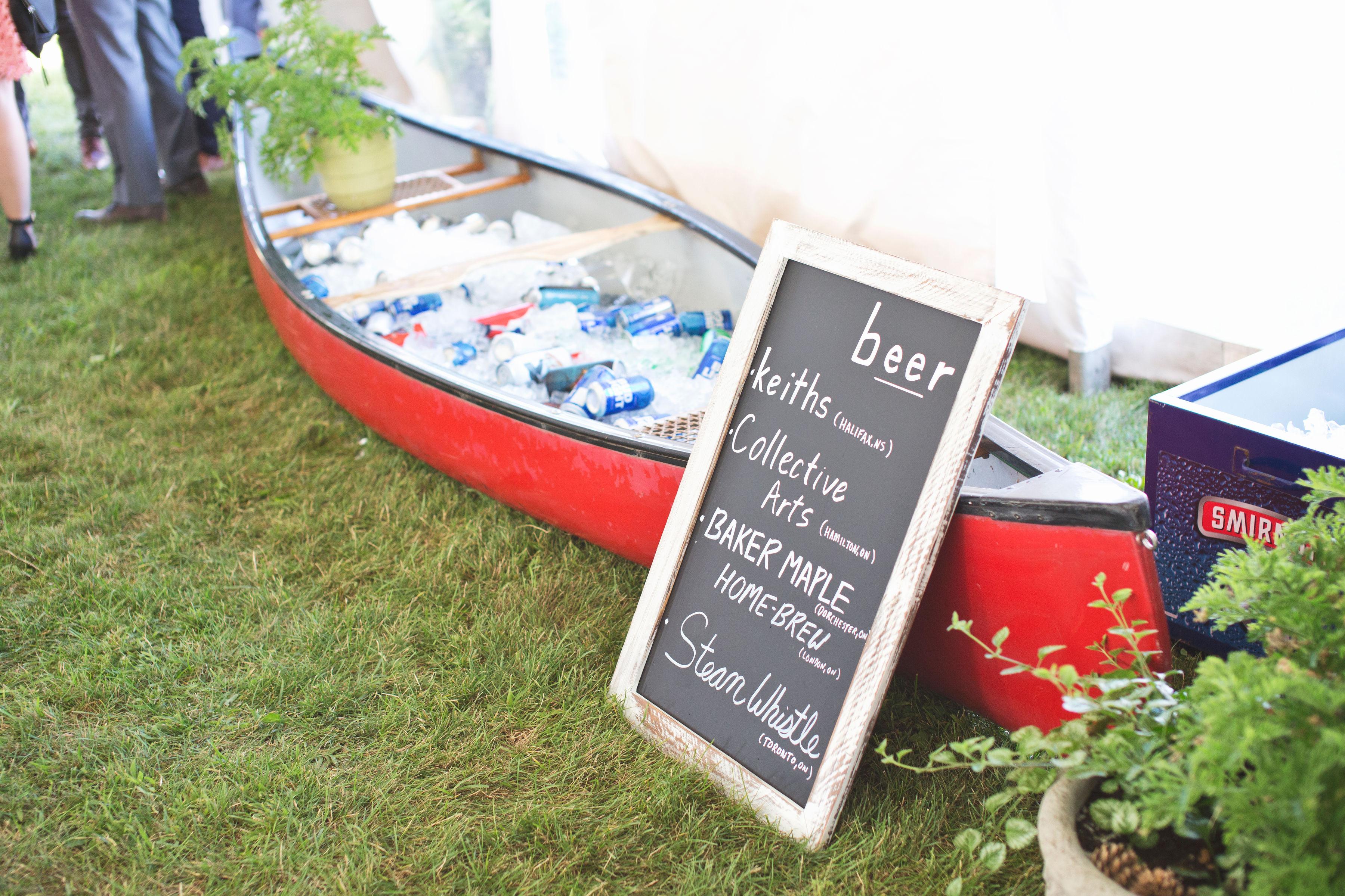 London Ontario Tent Wedding