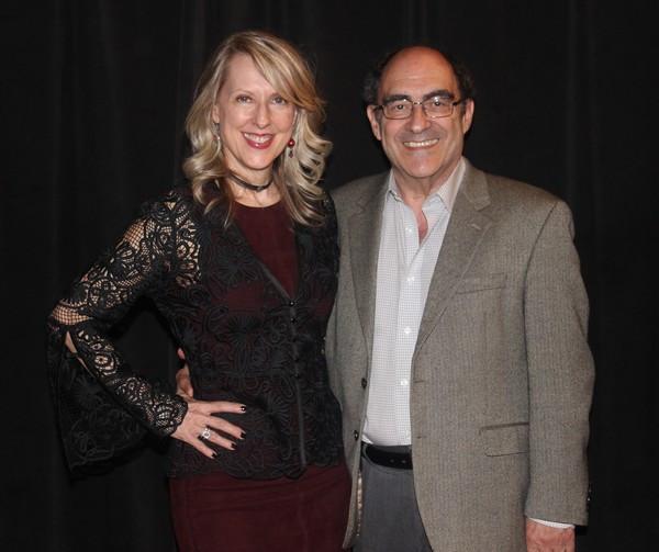 Debra Whitfield and Larry Toppall  (Producer, Beautiful) Photo Credit: Linda Lenzi