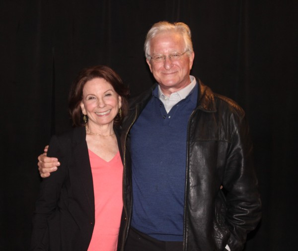 Carolyn Mignini (The Deuce) and Steve Vinovich (All the Way) Photo Credit: Linda Lenzi