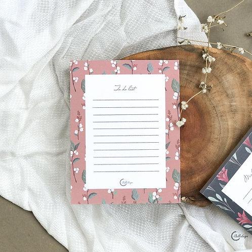 Flourish Notepad