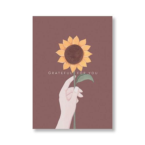 Grateful -  Card