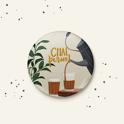 Chai Person Badge - Set of 2