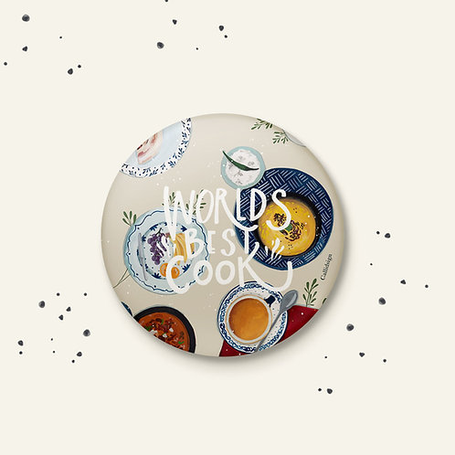 Best Cook Badge - Set of 2