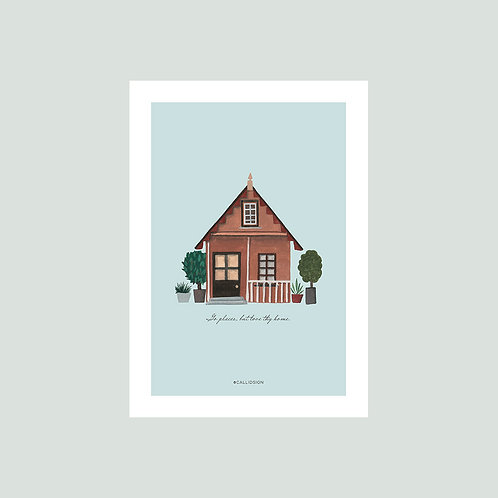 Love Thy Home Print