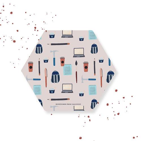 Stationery | Honeycombs