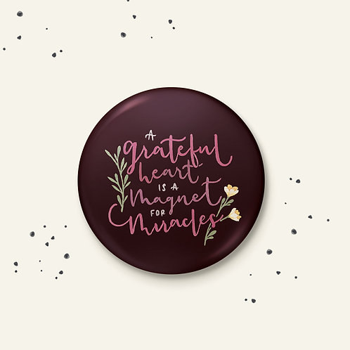 Grateful Badge - Set of 2