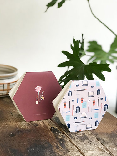 Marigold + Stationery | Honeycombs Pack of 2