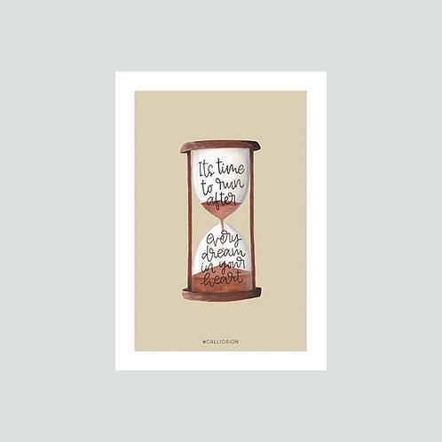 Hourglass Print