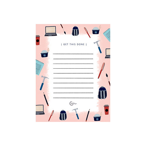 Get This Done Notepad