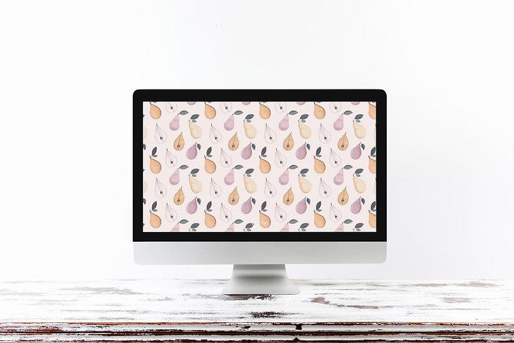 Pear-fect Wallpaper