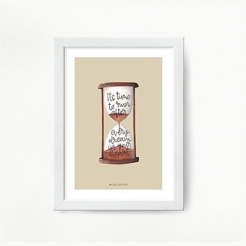 Hourglass Print - Framed